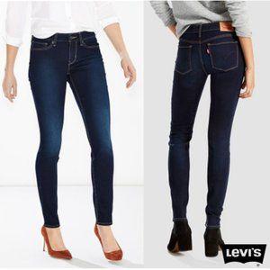 Levi's 711 Dark Wash Skinny Jean Size 25